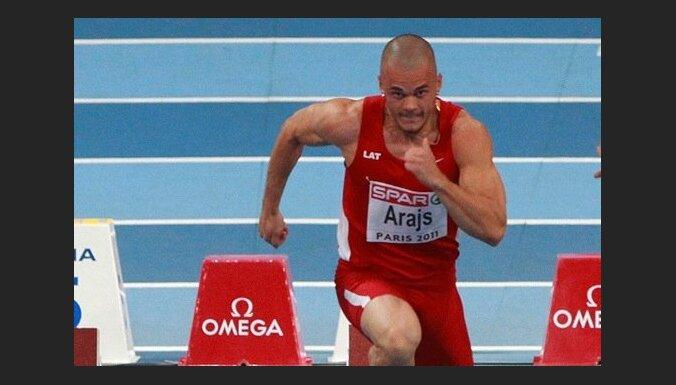 Sprinteris Arājs paliek uzreiz aiz goda pjedestāla Universiādē