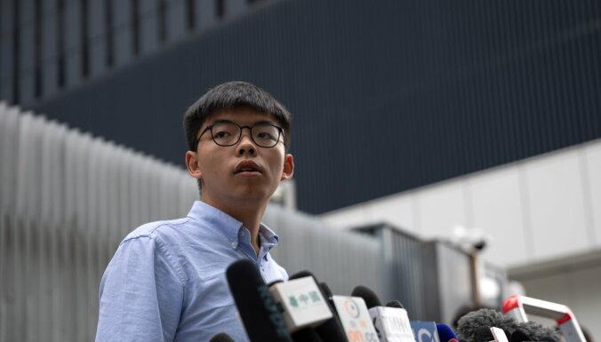 Honkongas demokrātijas aktīvistam liegta dalība apgabala vēlēšanās