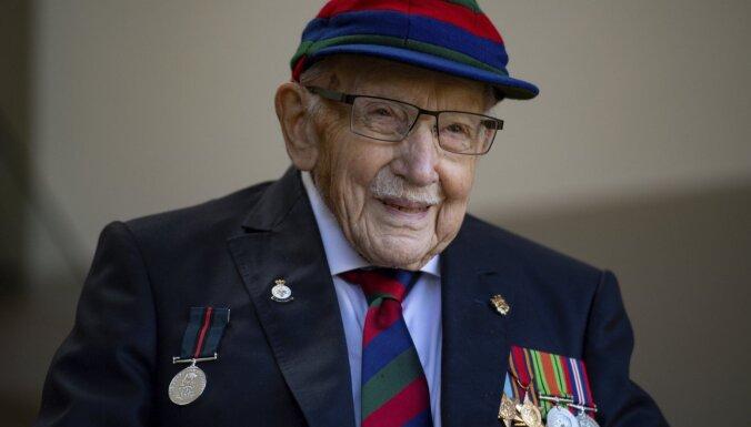 100 gadu vecumā no dzīves aizgājis britu ziedojumu akcijas varonis