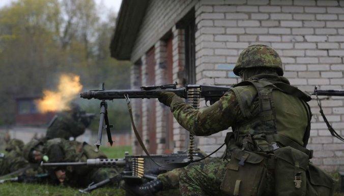 Igaunijā izvietotais NATO bataljons jūnijā Latvijā rīkos mācībās