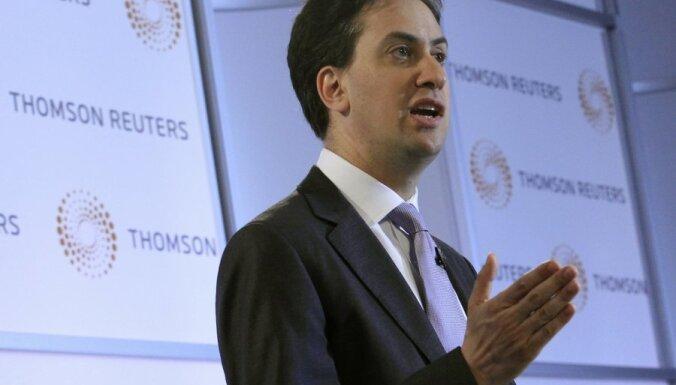 Lielbritānijas leiboristu līderim neizdodas uzlabot runasspējas