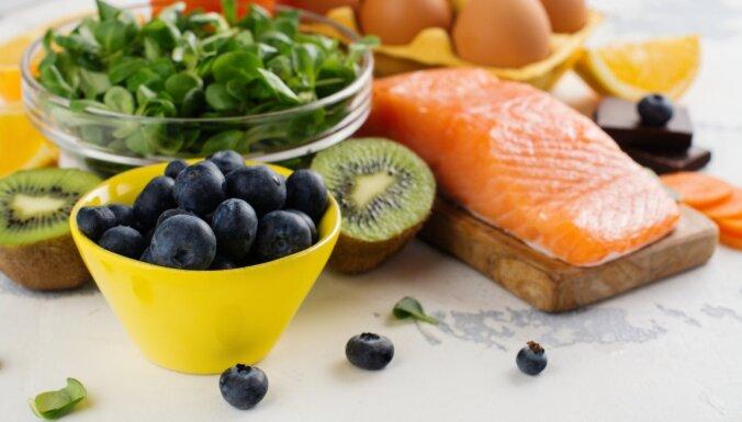Labākie pārtikas produkti acu veselībai