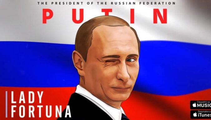 Jauna dziesma par Putinu iekļūst Krievijas 'iTunes' trijniekā
