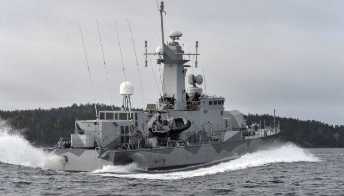Шведы продолжают поиск российской подлодки