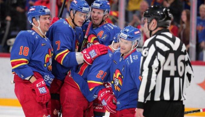 Kalniņš nodrošina uzvaru 'Jokerit' , Daugaviņš – Maskavas 'Spartak'