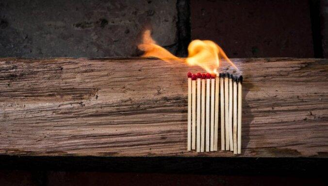 В пожарах пострадали три человека, один погиб