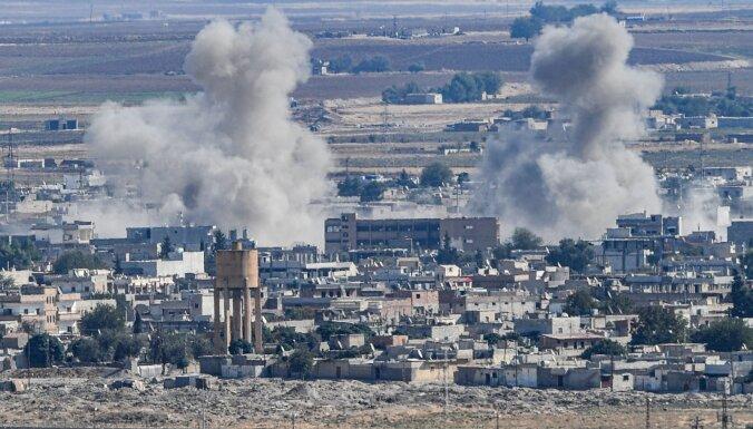 Kurdi Sīrijā izvērsuši pretuzbrukumu Turcijas karaspēkam