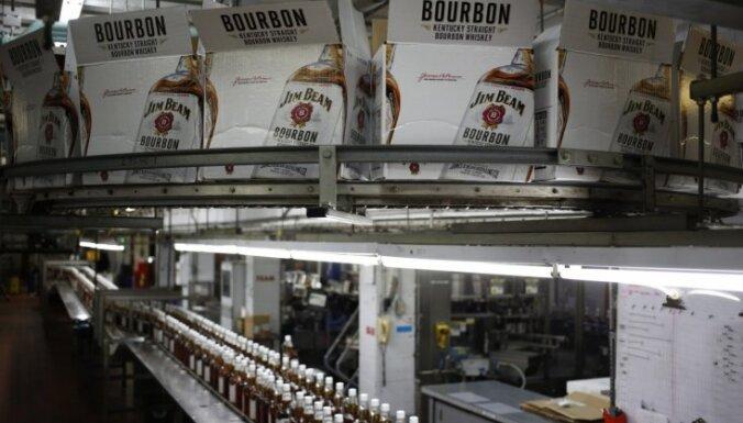 Strādnieki pieteikuši streiku divās 'Jim Beam' ražotnēs Kentuki