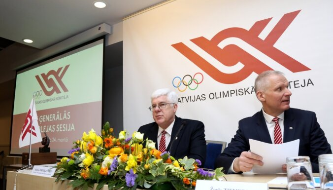LOK par vēlēšanu rīkošanu pirms olimpiādes: nepieciešams 'restarts' izpildkomitejas darbā
