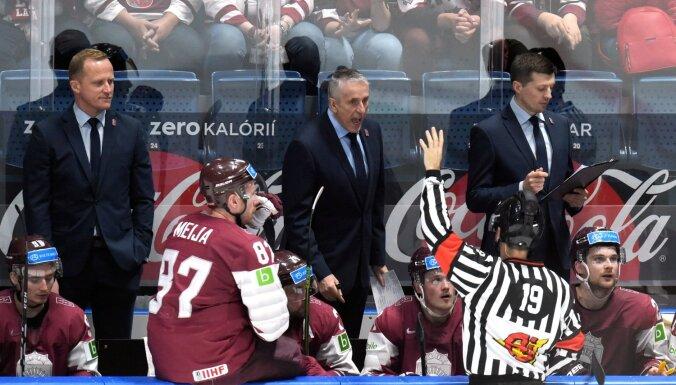 Hārtlijs: Latvijas izlasē nav vārda 'padoties'
