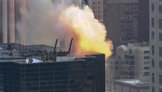 В Нью-Йорке возник пожар в Трамп-тауэре: есть пострадавшие