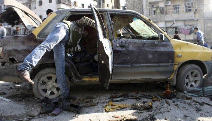 ФОТО: от авиаудара в Алеппо погибли не менее 20 человек