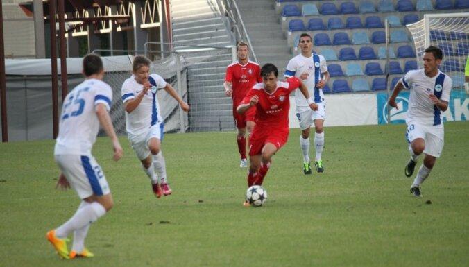 'Skonto' nervozā cīņā uzvar Čehijas trešo spēcīgāko klubu Liberecas 'Slovan'