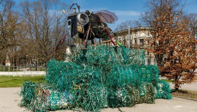Atkritumus šķiro divas trešdaļas Latvijas iedzīvotāju; tikpat daudz norāda uz infrastruktūras nepietiekamību. Ieraksts.