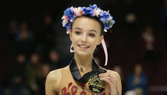 Щербакова выиграла чемпионат России с баллами выше мирового рекорда