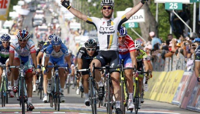 Тур де Франс: Контадор падал дважды, а выиграл Кавендиш