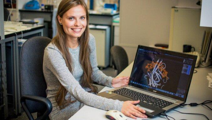 Arī baktērijas inficējas: LU doktorante pēta baktēriju vīrusus