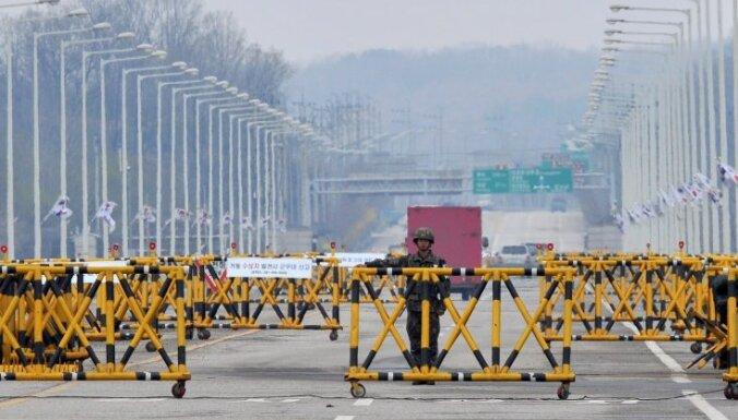 Dienvidkoreja pieprasa Ziemeļkorejai sākt sarunas par Kesonas kompleksu