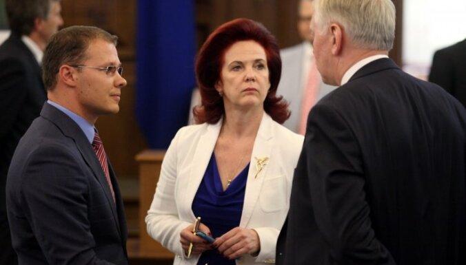 Аболтиня заявила о диктате Лембергса на переговорах о новом правительстве
