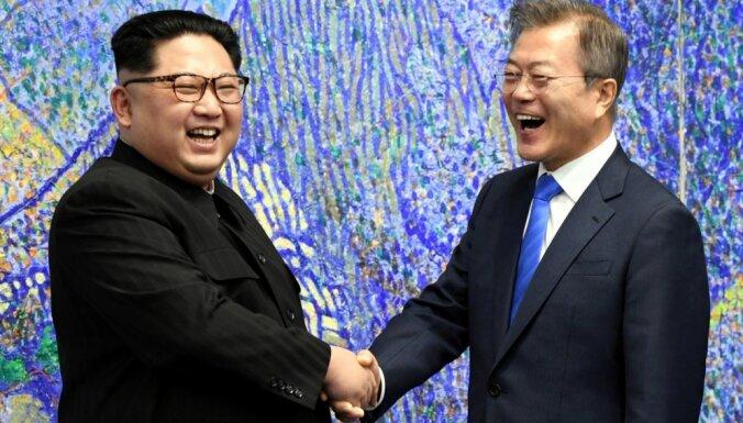ФОТО. Лидеры Южной Кореи и КНДР договорились о ядерном разоружении