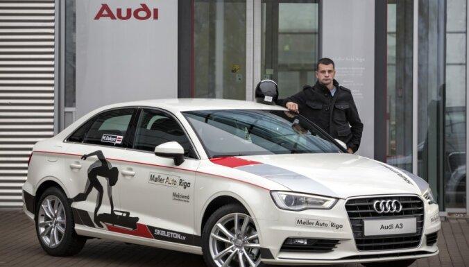 Братья Дукурс получили новенькие Audi A3 Limousine