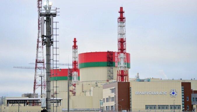 Uz Astravjecas AES atvesta kodoldegviela otrajam reaktoram