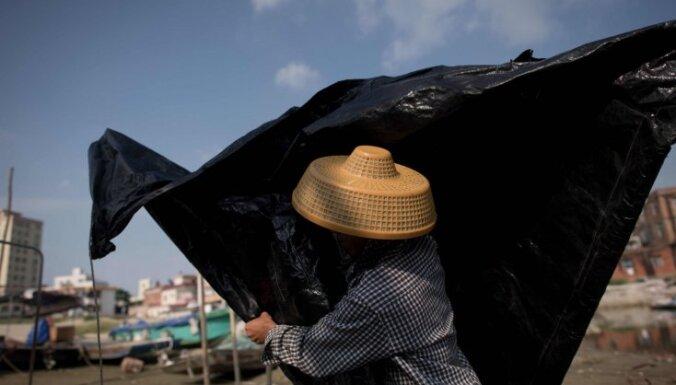Viesuļvētra 'Mangkhut' sasniegusi Filipīnas