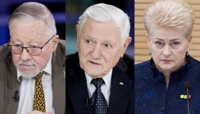 Бывшие руководители Литвы из-за трагического положения обратились к жителям страны