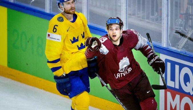 ВИДЕО: Как сборная Латвии заставила шведов понервничать