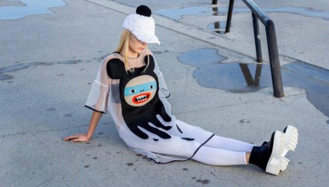Не хочу бежать за модой. Модельер Санта Аулмане и ее авангардные наряды