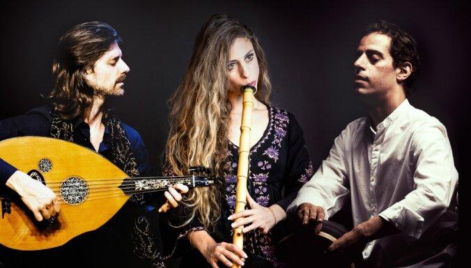 'Lielajā dzintarā' uzstāsies austrumu mūzikas ansamblis 'Trio Mashrabiya'