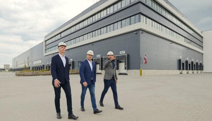 ФОТО: сдан в эксплуатацию центр логистики Lidl
