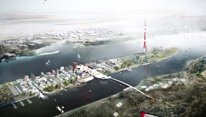 Tuvākajos 5-7 gados plāno uzbūvēt 2500 dzīvokļu Zaķusalā un Lucavsalā