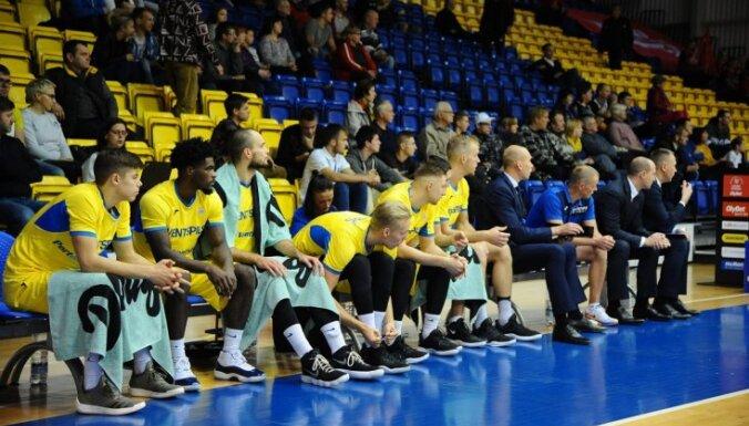 'Ventspils' izsprūk no zaudējuma spēlē pret 'Tartu Ulikool'