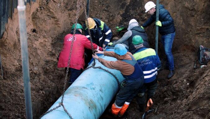 В Риге на правом берегу Даугавы отключат горячую воду