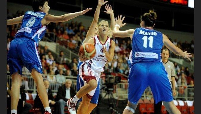Pirms EČ Latvijas sieviešu basketbola izlasei būs ap 10 pārbaudes spēlēm