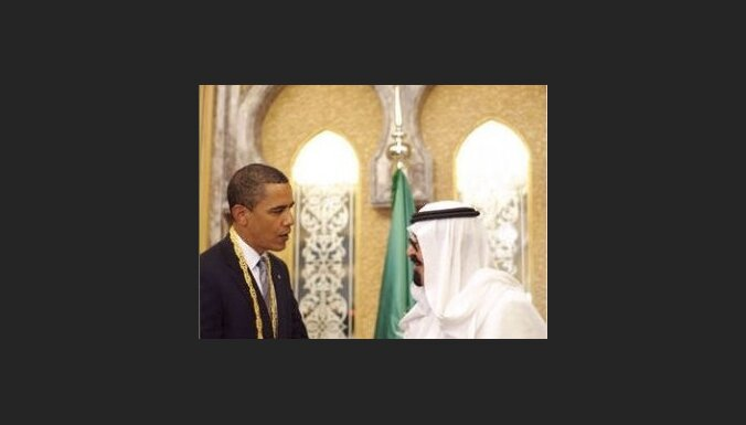 Obama sāk vizīti Tuvajos Austrumos