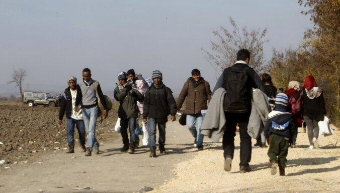 Госсекретарь: беженцы могут сами не захотеть в Латвию, и отнюдь не из-за зимы