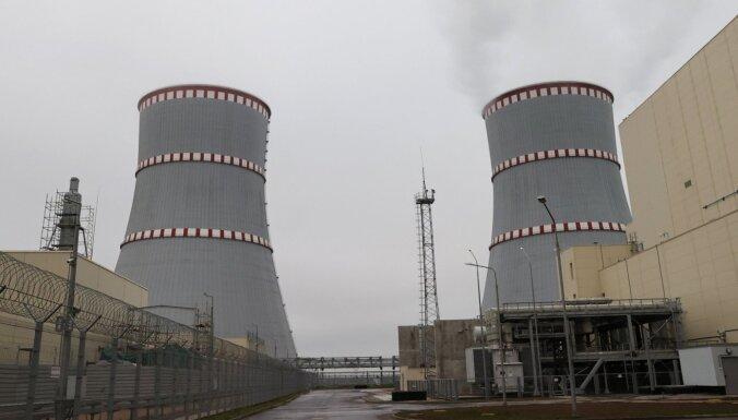 Astravjecas AES atsāk elektroenerģijas ražošanu