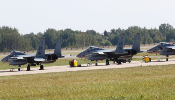 Latvijā norisināsies militārās mācības 'Ramstein Alloy'