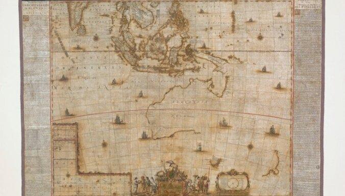 Представлена уникальная карта Австралии, созданная за сто лет до экспедиции Кука