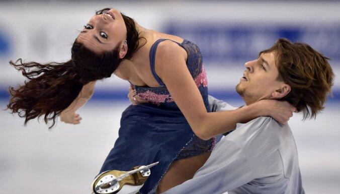 Ksenia Monko and Kirill Khaliavin of Russia
