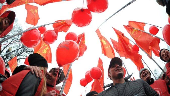 В Москве митинговали коммунисты, а Удальцов заболел