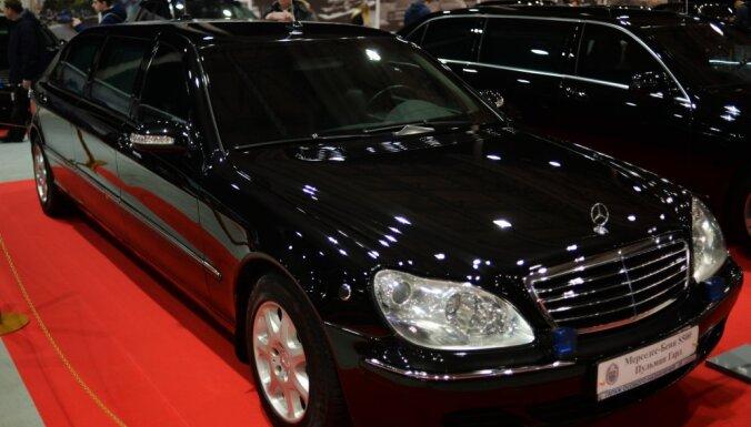 Бронированный лимузин Путина Mercedes-Benz Pullman выставили на продажу