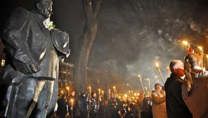 """""""Националы"""" в Риге отметили годовщину переворота Улманиса"""