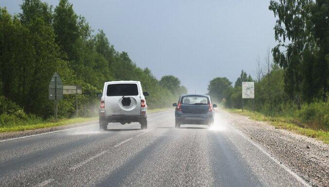 Vidējā ātruma kontroles sistēma Latvijā: atsijā 16 prioritāros posmus