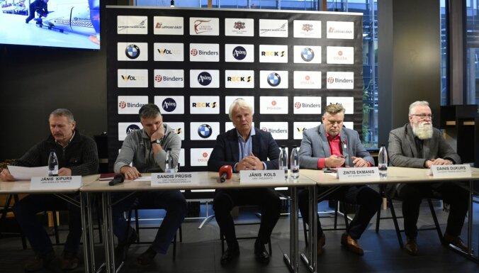 Prūsis un Dainis Dukurs stāsta par Latvijas komandas sastāvu sezonas pirmajā pusē