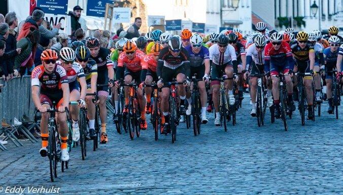 Kažim otrā vieta Beļģijā notiekošajā junioru daudzdienu velobrauciena otrajā posmā