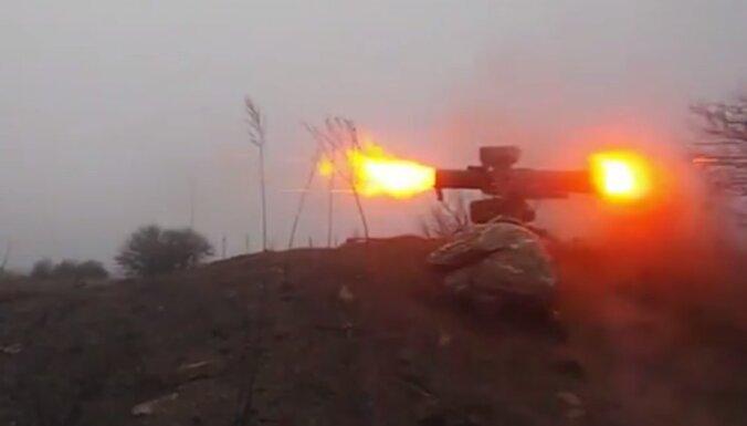 Video: Doņeckas separātisti nofilmē neveiksmīgu vadāmās prettanku raķetes šāvienu