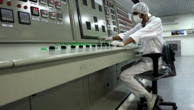Irānā uzsākta divu jaunu kodolreaktoru būvniecība